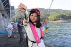 フィッシングマックス主催「とっとパークで釣りまくり」【YUIちゃんの取材スナップ&レポートNo.02】