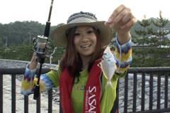 京都府宮津シロギス釣り【YUIちゃんの取材スナップ&レポートNo.03】