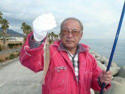 新年初キス釣り釣行 in 淡路佐野新島