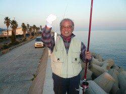淡路佐野での投げ釣り、キス狙い、厳しい釣行が続きそう?