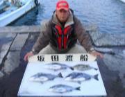 黒島の筏、良サイズのチヌが楽しめます♪