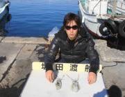 黒島の磯 エギングで2ハイ♪