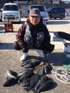 串本東部・コレバイでもグレ大漁でした♪