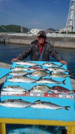 マリーナシティ海洋釣り堀 今日は青物が好調!