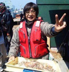 沖の一文字でのタコ釣り、釣果も増えてきています。