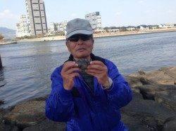 【満潮からの下げでチヌ釣れる】南芦屋浜