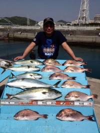 GWはマリーナ海上釣堀がおすすめ!今日も沢山釣れています♪