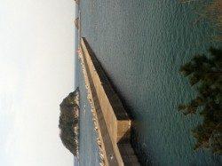 香住東港 穴釣りでガシラ15cm
