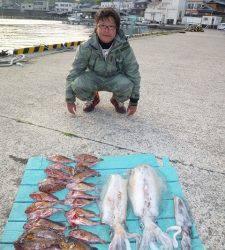 アオリにガシラ、ルアーゲームで大漁です♪