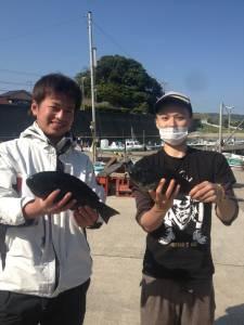沖の長島で昼からグレゲット☆朝はコッパグレとサンノジが多かった