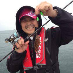 釣り番組の取材で炬口へ、いいかんじで釣れました!!