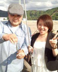 イワシいっぱい釣れますヨ!マリーナシティ釣り公園