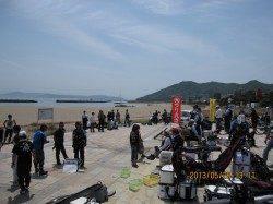 須磨 釣具店のフカセ釣り大会でチヌ44.5cm! 6位入賞☆