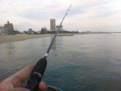 須磨の堤防、引き釣り・ズボ釣りでの釣果