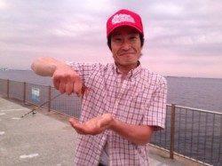【人気のスルメは夜狙いで】南芦屋浜ベランダ