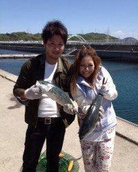 海洋釣り堀、GW明けも大漁です♪