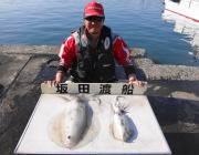 黒島の磯 ヤエンでアオリ2.5kg