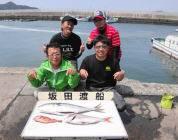 黒島の磯 ルアーでメジロ73cm&マダイ50cm