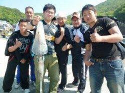 神谷で夜通しヤエン釣り!アオリイカ2.5kgを頭に4ハイ