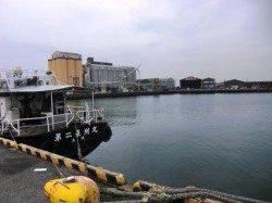 貝塚港(奥本製粉前)の釣りパート1