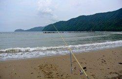 【雨がぱらつく中投げ釣り】5目釣り達成!