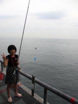 とっとパーク小島 サビキ釣りで豆アジ300尾 ファミリー釣果☆