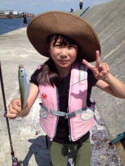 武庫川尻一文字での☆サビキ釣りの釣果☆