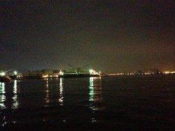 神戸港、バチ抜け狙い!シーバス50UP!