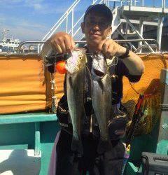 沖の北・中波止の2番でのウキ釣りの釣果情報