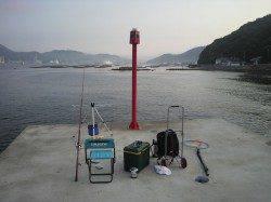 鰯浜漁港 投げ釣りでキス〜25cm6匹☆