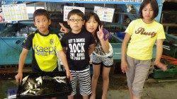 堺漁港 サビキでアジ楽しめる