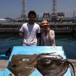 マリーナ海釣り公園、のませで釣れたのは・・・○○でした!