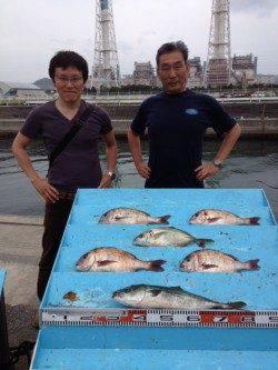 マリーナシティ海洋釣り堀 初めての釣りでもシマアジ・マダイ・ハマチ