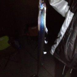 深夜から明け方にかけての太刀魚釣り、何とか2匹ゲット!