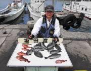黒島の磯 グレ二桁釣れてます