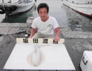 黒島の磯 8日のアオリイカ釣果