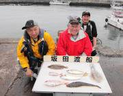 筏釣りガールのチヌ釣果&ヒラメ・マゴチの釣果
