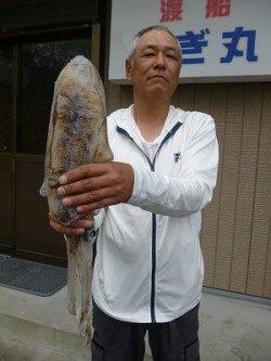 2日:湯浅の磯でのヤエン釣果☆