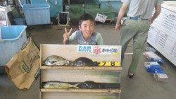 堺磯 内ミノのフカセ釣りで夏休み満喫!!!