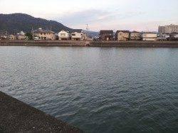 和歌川河口 ブッコミ釣りでウナギ2匹☆