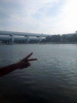 武庫川河口 ウキ釣りでハゼ25匹&手長エビ10匹 ハゼの季節に入りました