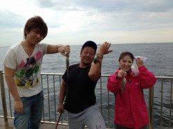 【風にも負けず】昼間の南芦屋浜