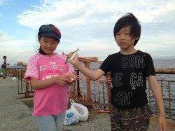 【家族での釣りにオススメ♪】南芦屋浜サビキ