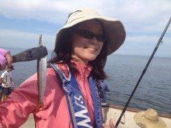 洲本 淡路旅行を兼ねての釣行♪ルアーでカマス最大29.5cmを30匹 タコの釣果も
