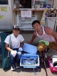 和歌山マリーナシティ、サビキ&ちょい投げの釣果☆
