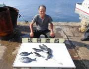 アジ30㎝とチャリコ♪ 黒島の筏