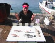 衣奈湾内での筏チヌ釣果 マダイも揚がりました