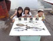 筏でのキッズ釣果 チヌ・アイゴ・カワハギなど