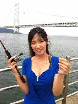 アジュール舞子!釣りガールがカワハギを・・・