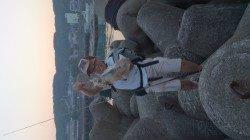 田辺・戎漁港 友人3人の釣行 エギングでアオリイカ600g&多数の新子